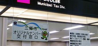 三郷市役所で法人市民税の申告