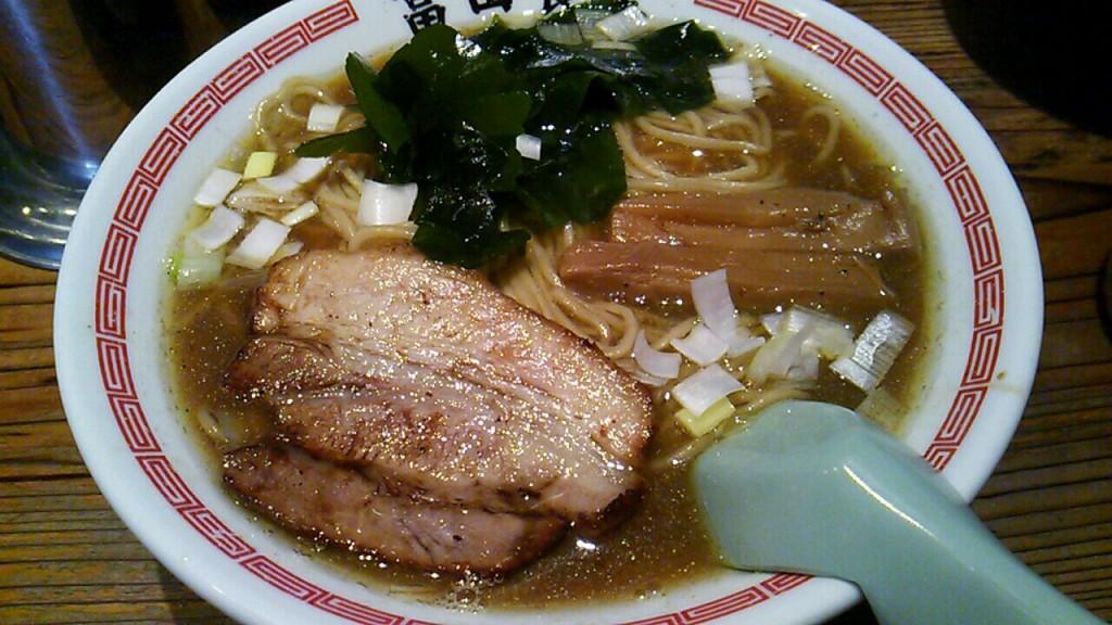 【グルメ】松戸中華そば 「富田食堂」