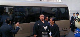 琴奨菊の松戸優勝パレード