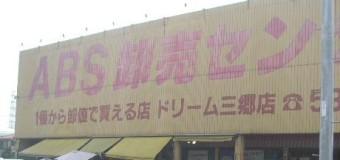 ABS卸売センター三郷店とコストコ新三郷店